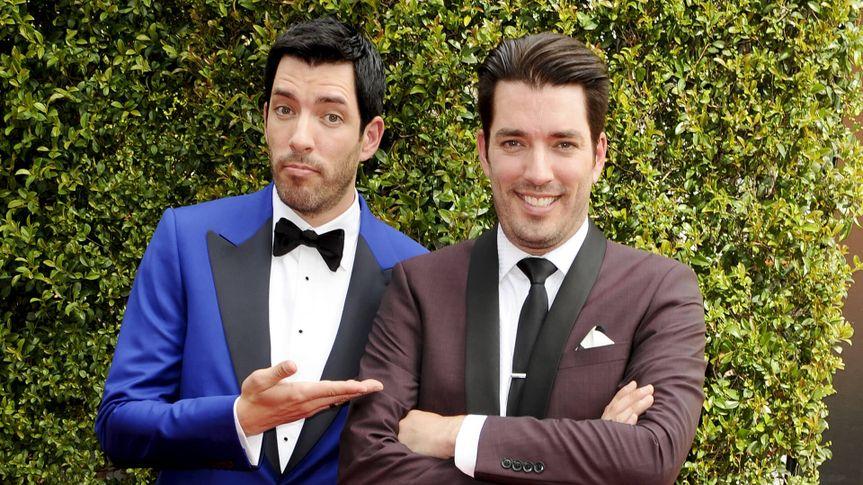 Photo by Picture Perfect/REX/Shutterstock (5074102bq)Jonathan Scott & Drew ScottCreative Arts Emmy Awards, Arrivals, Los Angeles, America - 12 Sep 2015.
