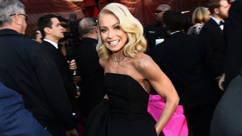 Kelly Ripa 90th Annual Academy Awards, Roaming Arrivals, Los Angeles, USA - 04 Mar 2018.