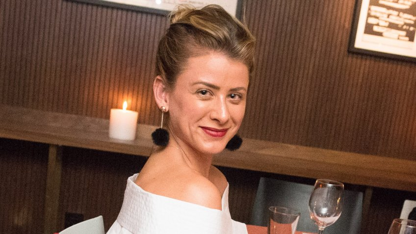 Mandatory Credit: Photo by Madison/BFA/REX/Shutterstock (9044301at)Lauren BosworthDine Design Launch Dinner, The Mailroom, New York, USA - 05 Sep 2017With music by Mark Ronson, hosted by Fiona Byrne and Lo Bosworth.