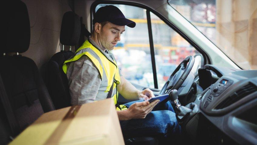 delivery, delivery driver