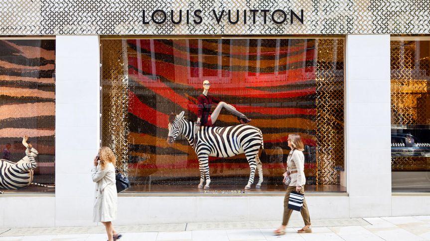 Louis Vuitton Shop Windows