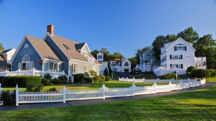 Maine, homes, houses, neighborhoods, real estate