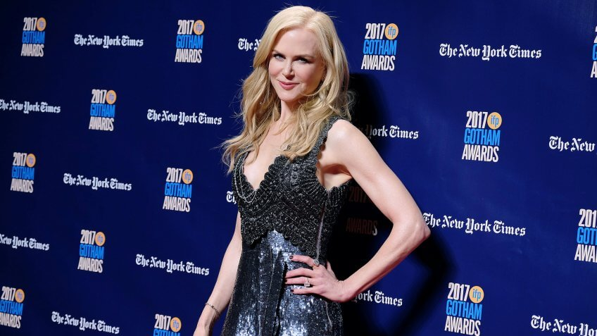 Mandatory Credit: Photo by Kristina Bumphrey/StarPix/REX/Shutterstock (9244234at)Nicole Kidman2017 IFP 27th Annual Gotham Awards, New York, USA - 27 Nov 2017.