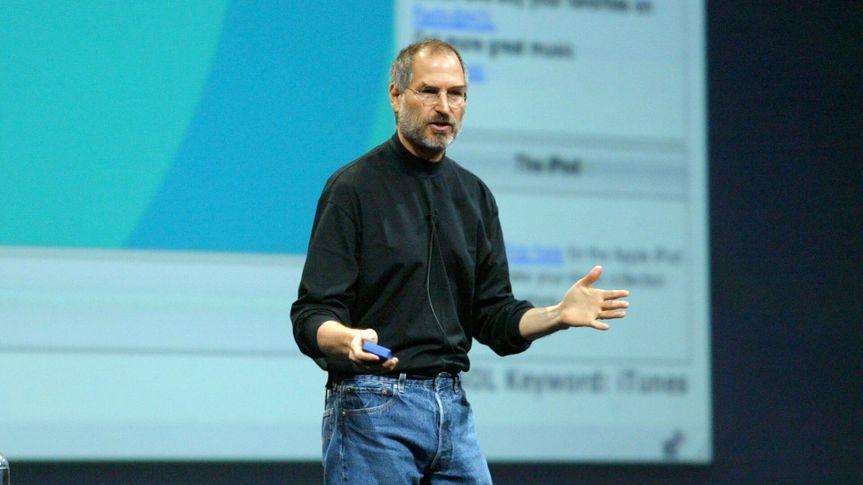 Steve Jobs at Macworld Conference