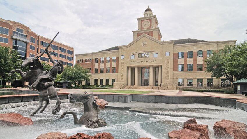 Sugarland City Hall Texas