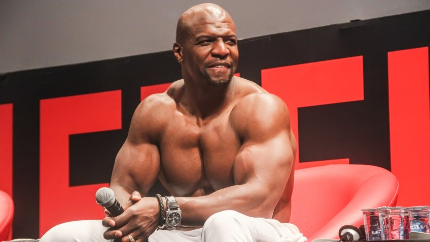 SAO PAULO, DECEMBER 6, BRAZIL, 2015: Actor Terry Crews during Comic Con Experience 2015 at Sao Paulo Expo.