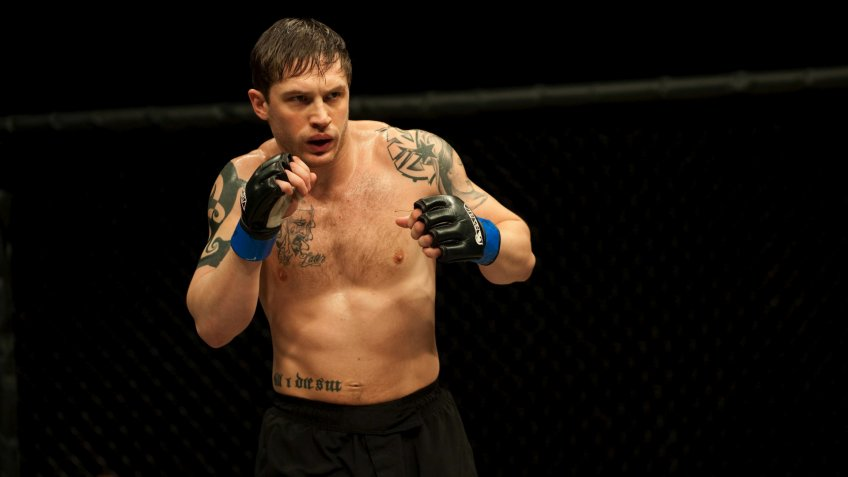 Tom Hardy Warrior 2010 Photo by Solaris/Kobal/REX/Shutterstock