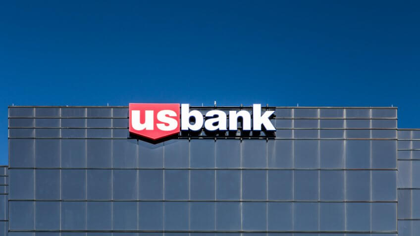 RICHFIELD, MN/USA - JUNE 21, 2014: US Bank headquarters building.