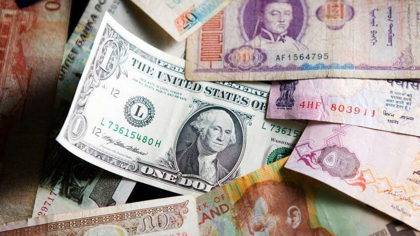US dollar and foreign currency