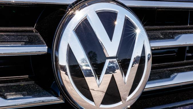 Volkswagen automobile emblem