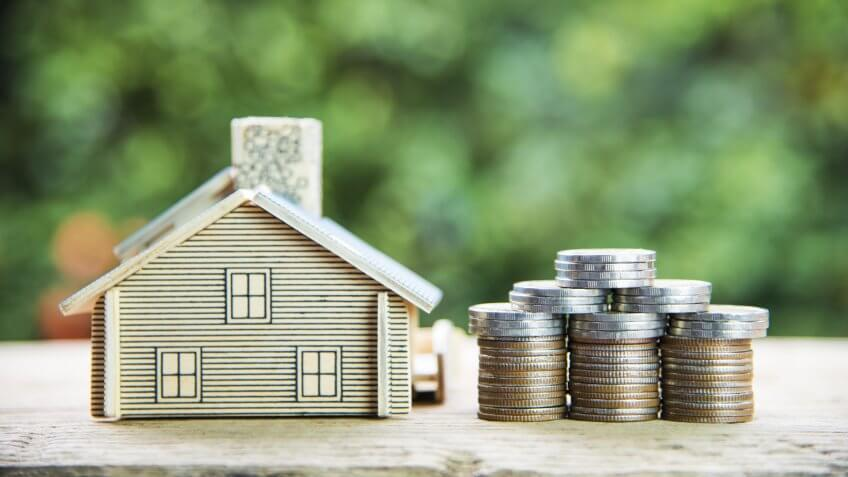 HOUSE, Home, Model Home, coins