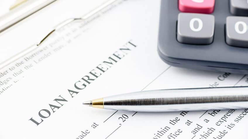loan agreement with pen
