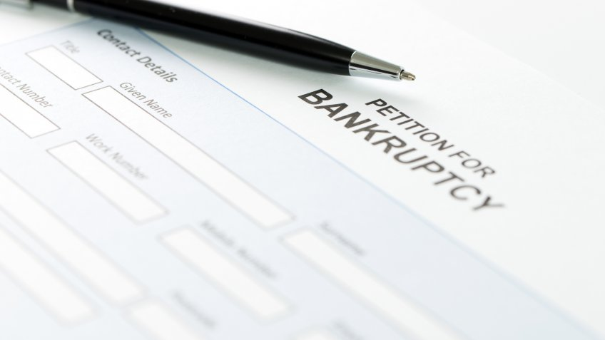 petition for bankruptcy paperwork