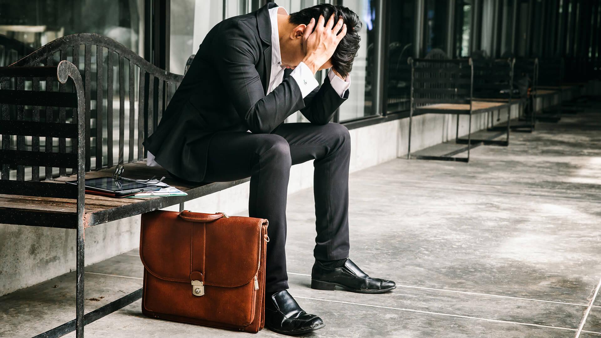 Concept of business failure and unemployment problem.