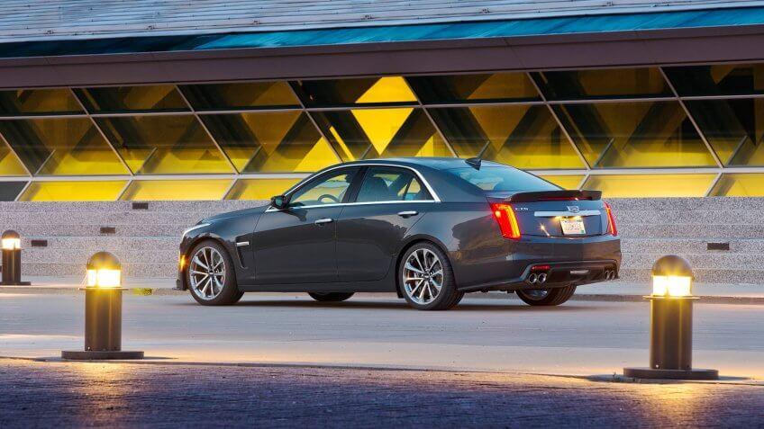 2018 Cadillac CTS-V.