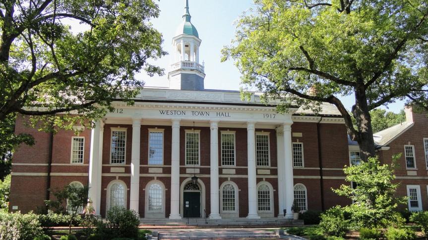 Weston, Massachusetts Town Hall