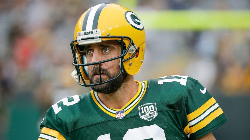 Green Bay Packers quarterback Aaron Rodgers warms up before a preseason NFL football game against the Pittsburgh Steelers, in Green Bay, WisSteelers Packers Football, Green Bay, USA - 16 Aug 2018.