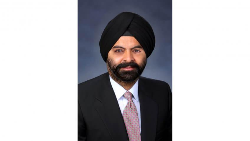 Ajay Banga MasterCard CEO