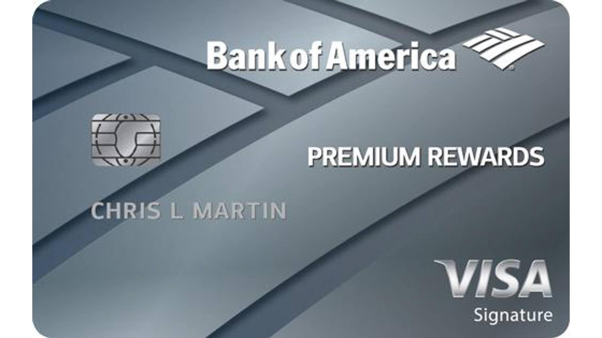 Bank of America Premium Rewards Visa Credit Card
