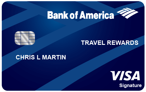 Best Travel Credit Cards_BankAmericard Travel Rewards Credit Card