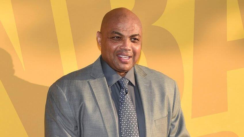 Mandatory Credit: Photo by Invision/AP/REX/Shutterstock (9241427aq)Charles Barkley arrives at the NBA Awards at Basketball City at Pier 36, in New York2017 NBA Awards - Arrivals, New York, USA - 26 Jun 2017.