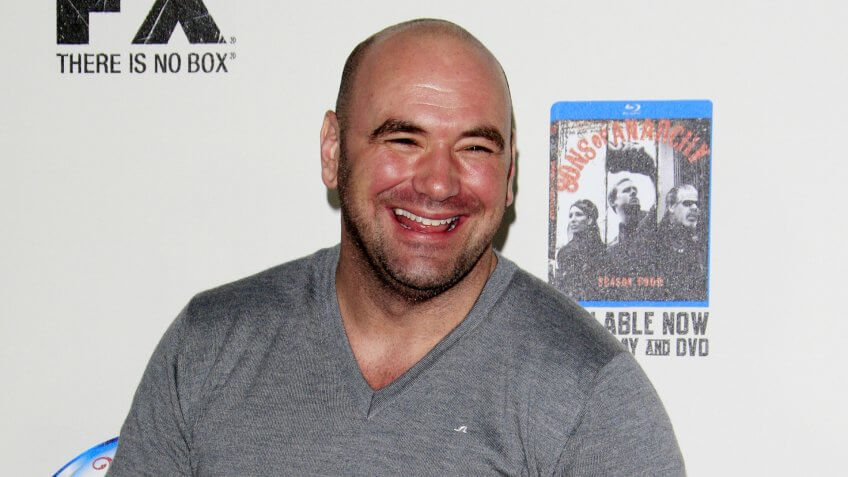 """LOS ANGELES - SEP 8: Dana White arrives at the """"Sons of Anarchy"""" Season 5 Premiere Screening at Village Theater on September 8, 2012 in Westwood, CA."""