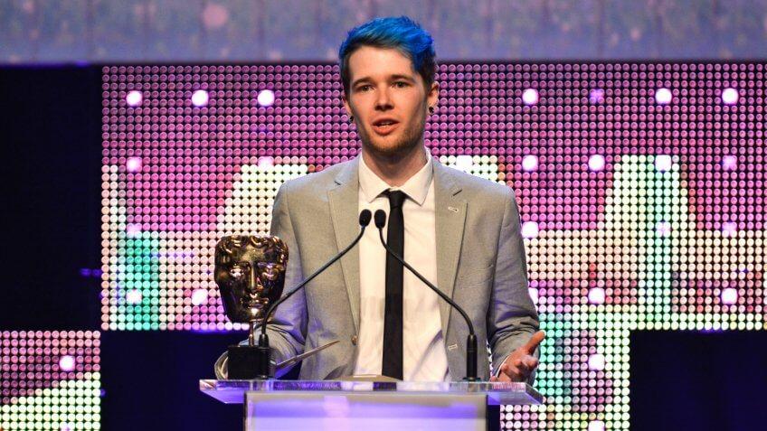 DanTDMBritish Academy Children's Awards, Ceremony, London, UK - 26 Nov 2017.