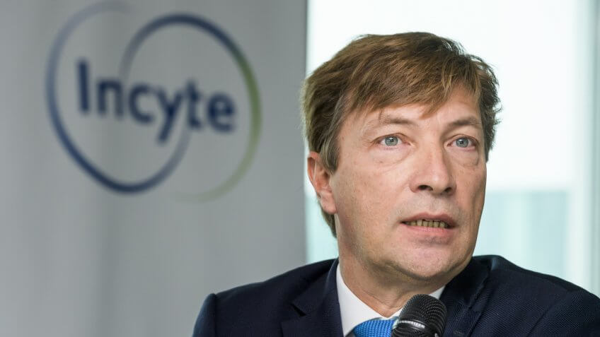 Herve Hoppenot, CEO of the US pharmaceutical company Incyte