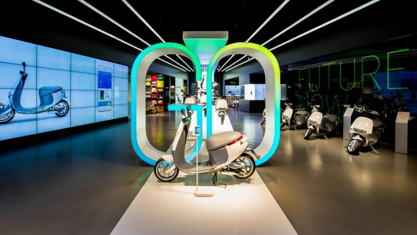 Gogoro electric scotter company