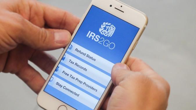 IRS2GO mobile app
