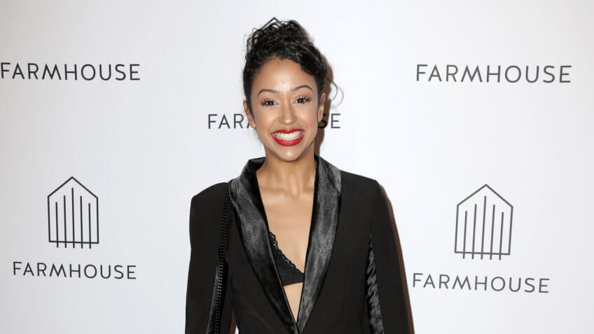 LOS ANGELES - FEB 15: Liza Koshy at the Grand Opening of FARMHOUSE at the FARMHOUSE, Beverly Center on February 15, 2018 in Los Angeles, CA.