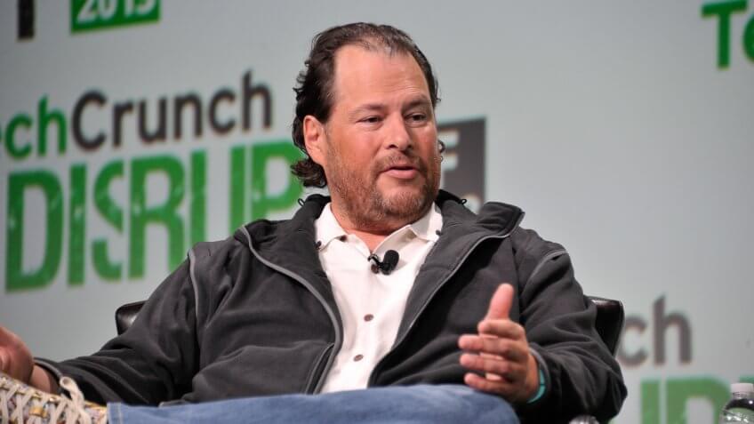 Marc Benioff Salesforce CEO