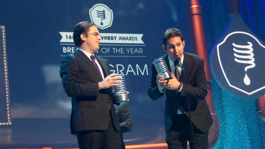 Mike Krieger and Kevin Systrom co-founders Instagram