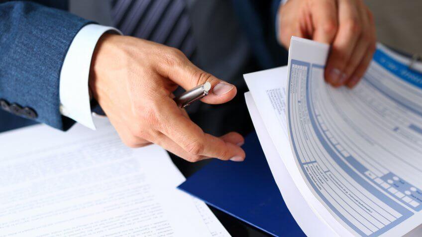 Organizing finance documents