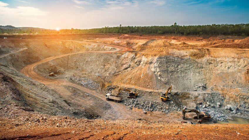 Iron ore mine in Ohio