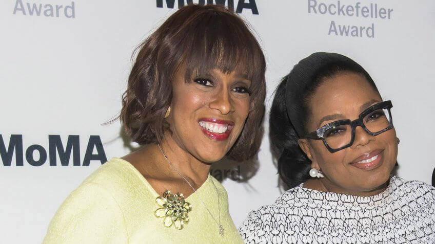 Photo by Charles Sykes/Invision/AP/REX/Shutterstock (9450086l)Oprah Winfrey, Gayle King.