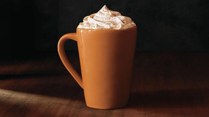 Starbucks Pumpkin Spice Latte.