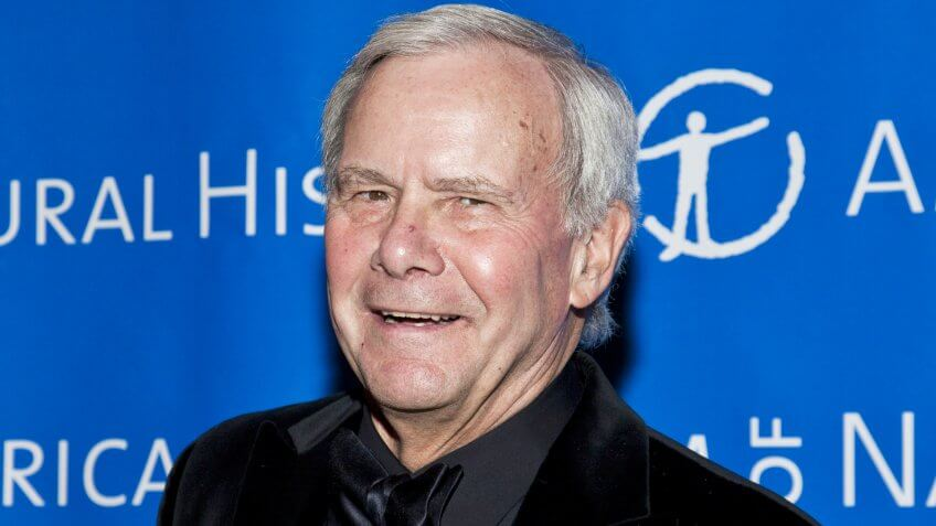 NEW YORK - NOVEMBER 18: Tom Brokaw attends American Museum of Natural History Gala on November 18, 2010 in New York, City.