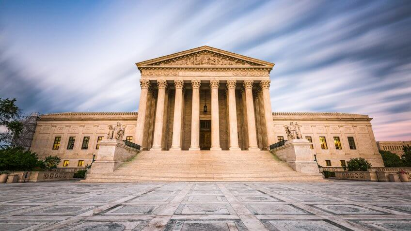 United States of America Supreme Court Building
