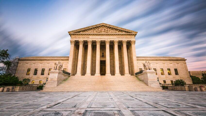 United States of America Supreme Court Building