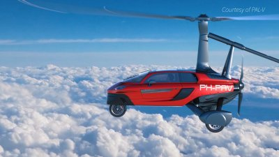Beat Traffic With This $350,000 Flying Car