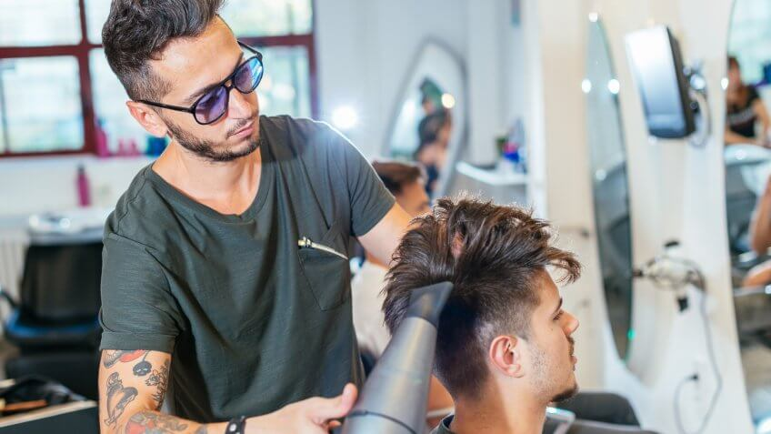 Young men and women want to have modern and unique hair styles.