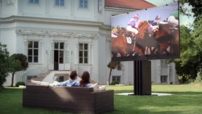The $775,000 Super TV Meant for the Outdoors