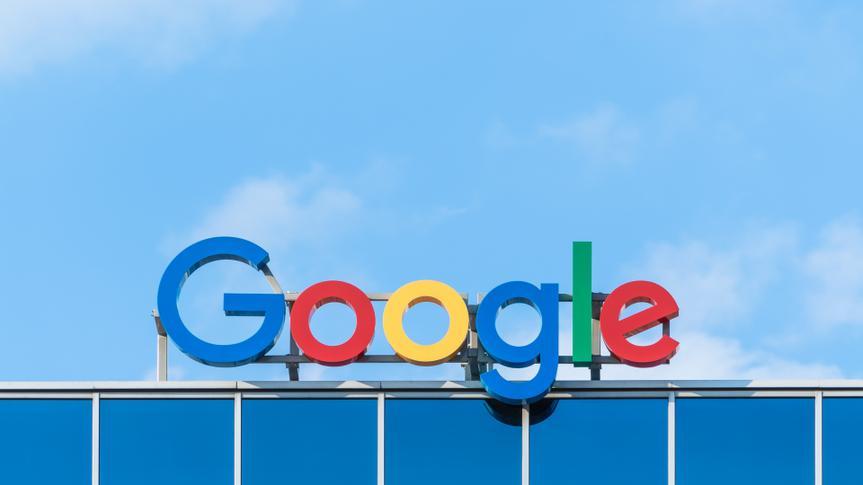 Google company sign