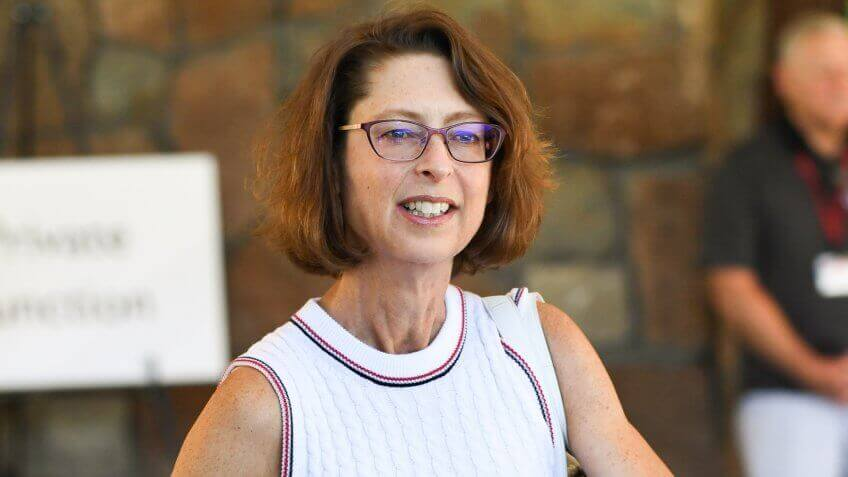 Abigail Johnson Allen & Company Sun Valley Conference, USA - 10 Jul 2018.