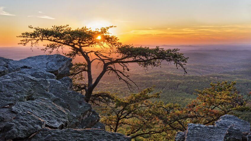 Alabama Cheaha Mountain State Park