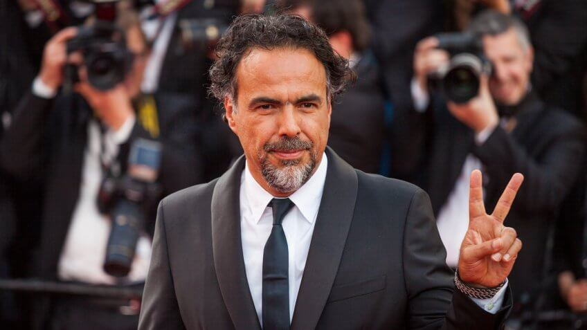 CANNES, FRANCE - MAY 22, 2017: Alejandro Gonzalez Inarritu attends 'The Killing Of A Sacred Deer' screening during the 70th annual Cannes Film Festival.