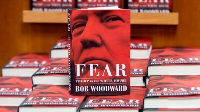 Trump Slams Woodward's Top Selling Tell-All, Says He'll 'Write the Real Book'
