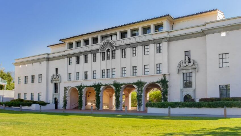 PASADENA, CA/USA - October 1: Beckman Institute at the California Institute of Technology.