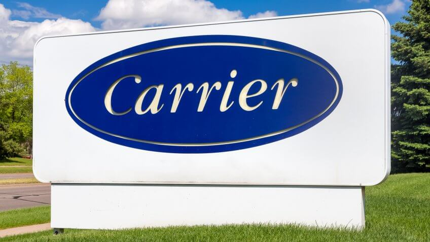 Carrier HVAC manufacturing